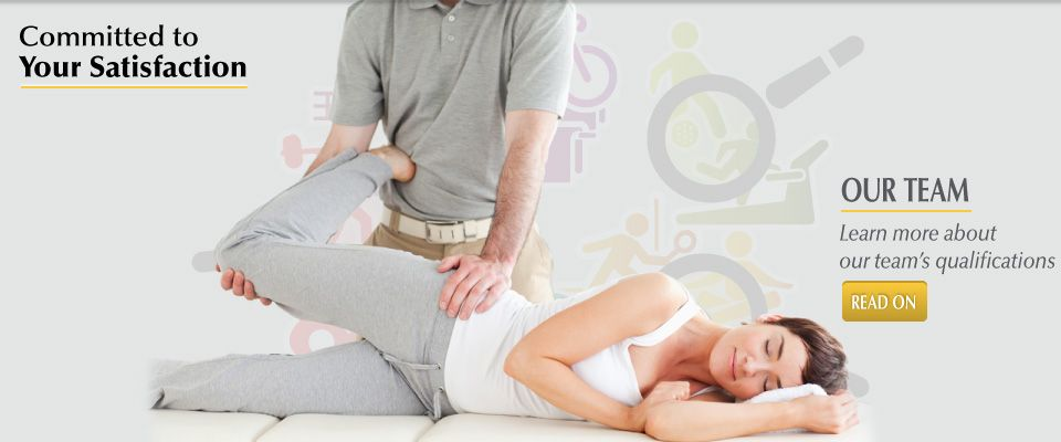 Committed to Your Satisfaction - our team | physiotherapy