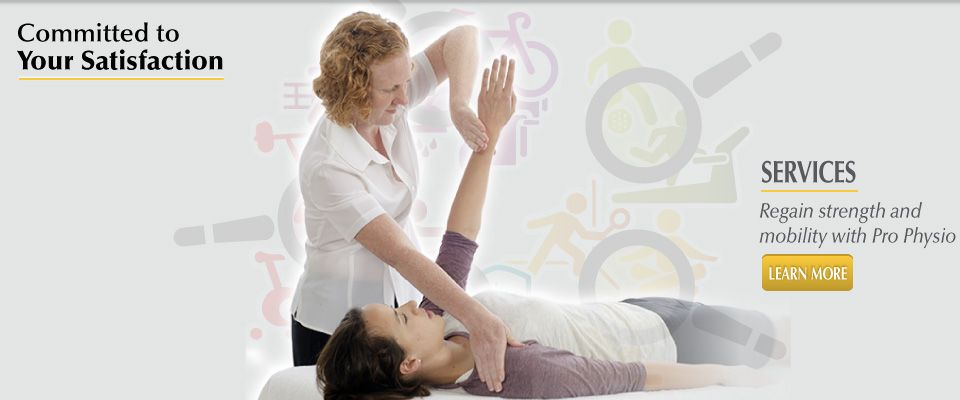 Committed to Your Satisfaction - services | arm therapy